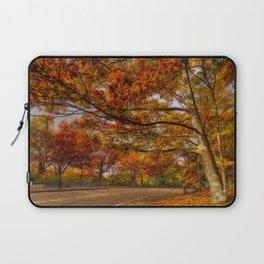 Fall Road,Chestnut Hill, Massachusetts Laptop Sleeve