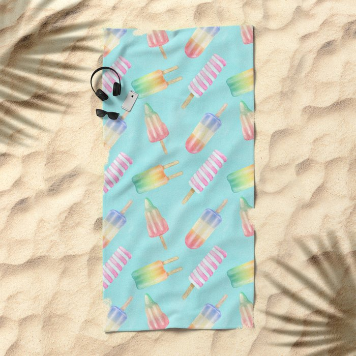 Sweet Treats Beach Towel
