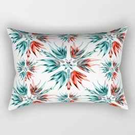 Succulent Fade Out Burst Rectangular Pillow