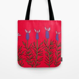 Lavender red Tote Bag
