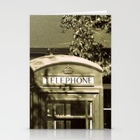 telephone Stationery Cards featuring Telephone by Irène Sneddon