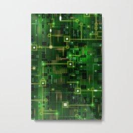 Chip Metal Print