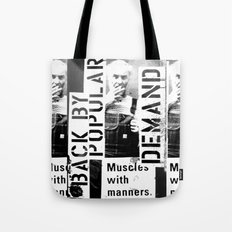 Muscles on Demand (B&W) Tote Bag