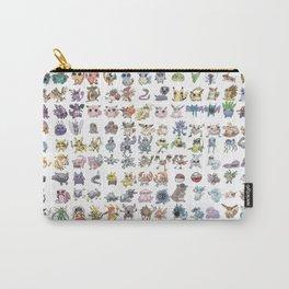 Pokémans! 151 Lazy-Drawn Pocket Monsters ( Carry-All Pouch