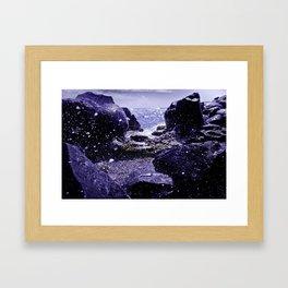 Seaspray Framed Art Print