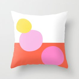 Shape and Color 35 Throw Pillow