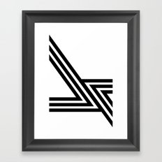 Hello VI Framed Art Print