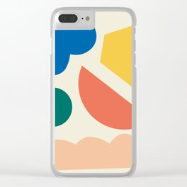 Floating lands Clear iPhone Case