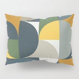 Mid Century Geometric 13/2 Pillow Sham