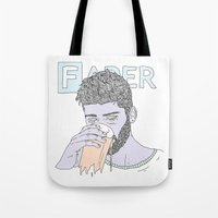zayn Tote Bags featuring Zayn by Megandoods
