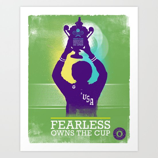FEARLESS: Owns The Cup Art Print