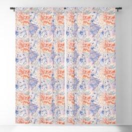 Hydrangeas Pattern 05 Blackout Curtain
