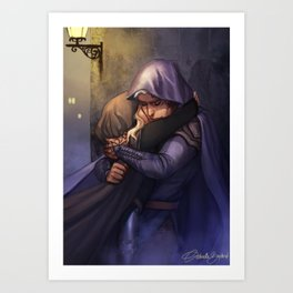 Rowan and Aelin Art Print