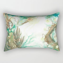 Guardian of the Forest. Rectangular Pillow