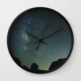 Blue Night Sky, Valley of Fire NV Wall Clock