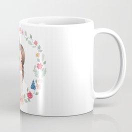 girl with groceries Coffee Mug