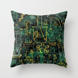 Hats on Heads #1 Throw Pillow