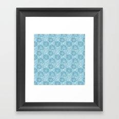 Abstract circles Framed Art Print