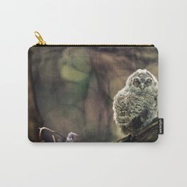 Tawny Owl Chick Carry-All Pouch
