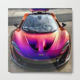 Blurple McLaren P1 Metal Print