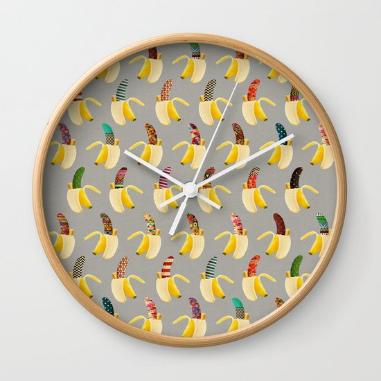 Anna Banana Wall Clock