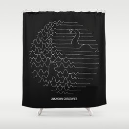 Unknown Creatures Shower Curtain