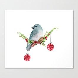 Christmas Bird - Winterland Canvas Print