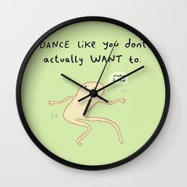 Dance Motivation Wall Clock