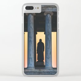 Between the Columns Clear iPhone Case