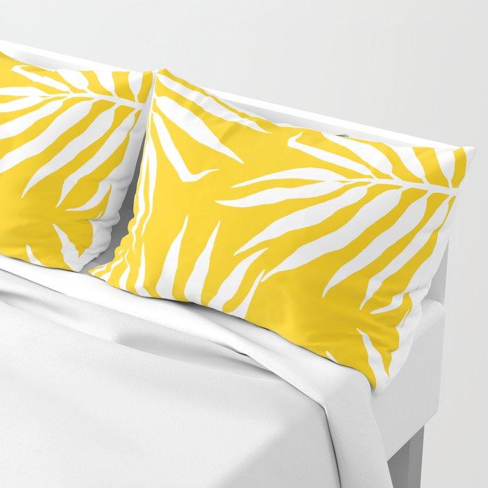 Malé mustard Pillow Sham