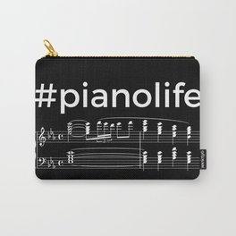 #pianolife (dark colors) Carry-All Pouch