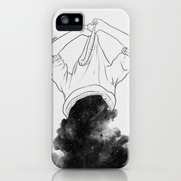 Its better to disappear. iPhone Case
