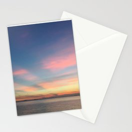 Hong Kong Colourful Sunset Romance | Travel Photography Stationery Cards