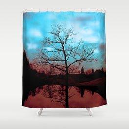 Good & Evil Shower Curtain