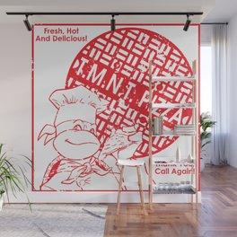 TMNT Pizza Wall Mural