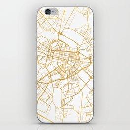 SOFIA BULGARIA CITY STREET MAP ART iPhone Skin