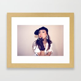 Bond Girl  Framed Art Print