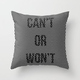 Can't or won't? Throw Pillow