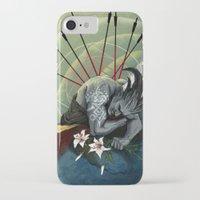 """dragon age iPhone & iPod Cases featuring Dragon Age - Qunari - Betrayal by Barbara """"Yuhime"""" Wyrowińska"""