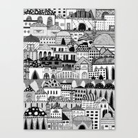 palestine Canvas Prints featuring Jerusalem, Palestine by LaPe