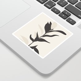 Abstract Minimal Plant Sticker