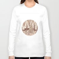bigfoot Long Sleeve T-shirts featuring Bigfoot by Najmah Salam