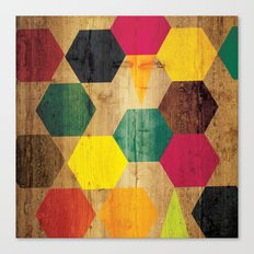 Wood Prints Canvas Print