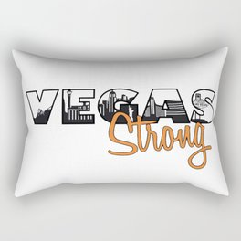Vegas Strong Rectangular Pillow