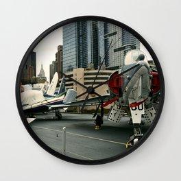 Euro-Plane Wall Clock