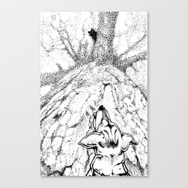 Treed Canvas Print