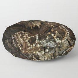 The Lost Treasure Floor Pillow