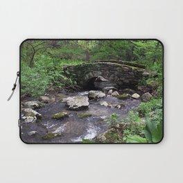 Stone Bridge in Woods Laptop Sleeve