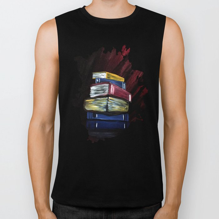 Books Of Knowledge Biker Tank