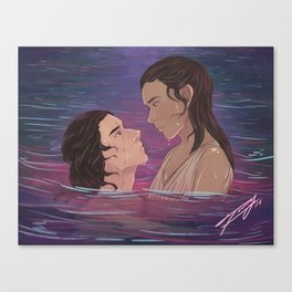 Water - Reylo Canvas Print